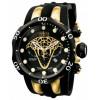 Relógio Invicta Venom 0974 Preto/dourado - Masculino